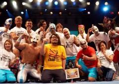 Ryukyu Dragons pro-wrestling team has its home at Navel Kadena.