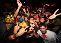 Pumpkin Panic is the largest Halloween event for young adults on Okinawa.