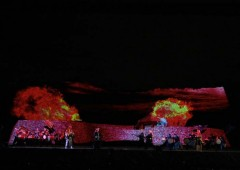 Nakagusuku Castle Ruins come to life this weekend with a huge projection mapping event depiting the life of Gosamaru.