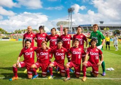 FC Ryukyu, the only professional soccer team in Okinawa, is playing its first season in the 3rd division of Japan's J-league. 提供:FC琉球