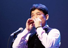Naohide Nakazato, Okinawa's only professional ocarina player, will perform at Kadena BX on Nov. 16 (Sun.) starting at 1:20 p.m.