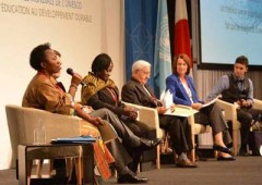 World Conference on Education for Sustainable Development calls for renewed commitment by all countries. ©All rights reserved