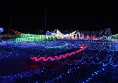 Itoman Peaceful Illumination was the first light display in Okinawa, and is currently staged at Itoman Tourist Farm in Mabuni.
