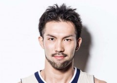 Kings' Hiromasa Omiya was the only Japanese player chosen to take part in the dunk shot contest.