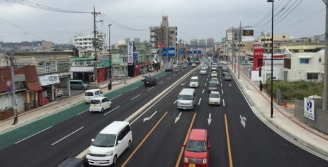 Starting Feb. 2, rush hour bus lanes on Hwy 58 will be extended to stretch practically all the way between Isa and Naha.