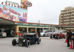 Would you believe but Okinawa has a few real hot rods to bring to the show.