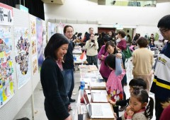 Coordinators for International Relations (CIRs) living on Okinawa showcase their countries and cultures.