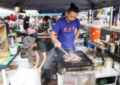 Food Flea is a bonanza for lovers of something tasting different.