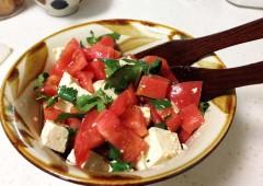 tomato-tofu salad 7089