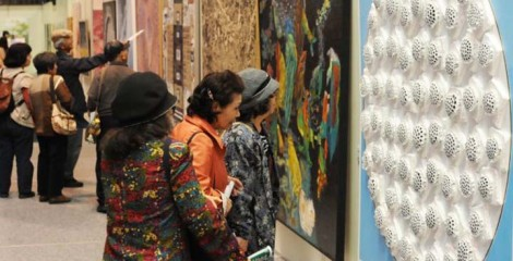 Okiten exhibition showcases 830 pieces of art of every genre through Apr. 5th.