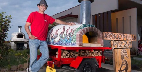 If you don't go to the pizza, the pizza will come to you, straight from Mike Davison's Kokopelli wood-fired pizza oven whenever you feel the urge.