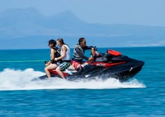 Personal watercraft are and excellent way to enjoy a day on the ocean. (Photo Troy Williams)