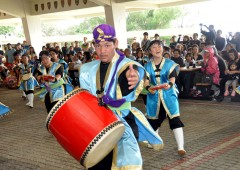 Local entertainment like Tenryu Taiko has always been the trademark of Navy MWR festivals.