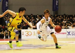 Ryuichi Kishimoto, #14, has been a reliable a top scorer for the Kings throughout the season. (File photo)