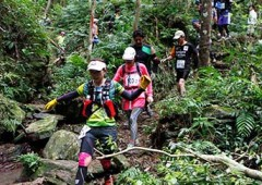 Trail running in pristine jungles of northern Okinawa is an exhilarating experience.