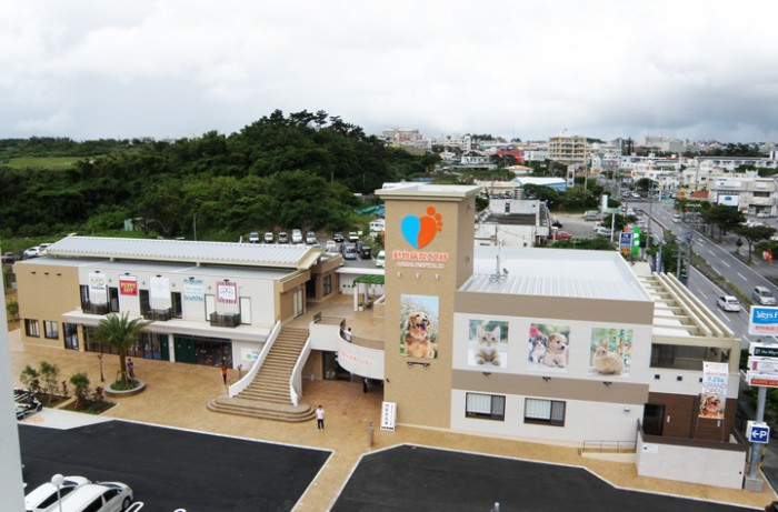 Okinawa Vets Park Chatan is located on Route 23 next to Eagle Lodge.