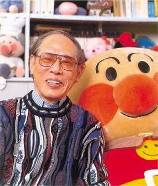 Takashi Yanase with Anpanman.