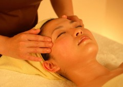 Individual treatments including facial and foot massages are also available.