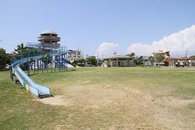 Manta park is a popular playground for children.