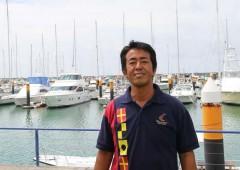 Mitsuaki Tabata is the owner of Island Boat Ltd.