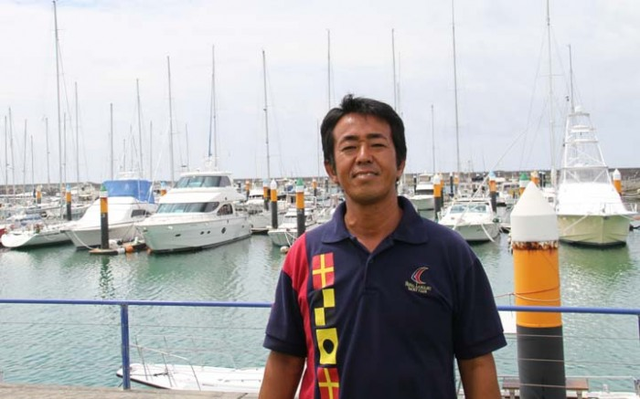 Mitsuaki Tabata is the owner of Island Boat Ltd.
