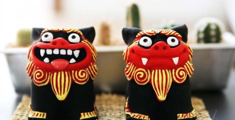 Nothing is more Okinawan than a pair of Shisa.