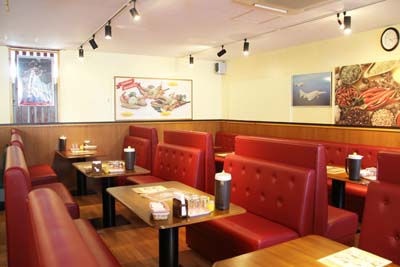 The restaurant has plenty of space and can cater to parties of up to 30 people.