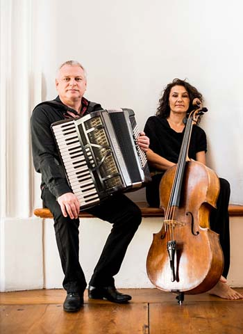 Duo Klaus Paier and Asja Valcic