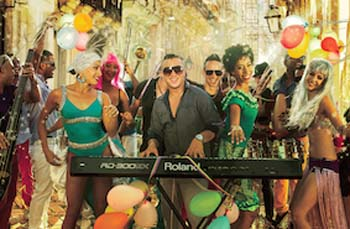 Maykel Blanco y su Salsa Mayor, a hot salsa band from Cuba, is making its first appearance on Okinawa at Okinawa Latina 2015.