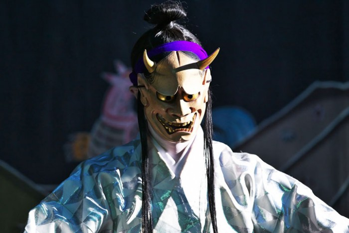 Kumiodori has scary characters, too.