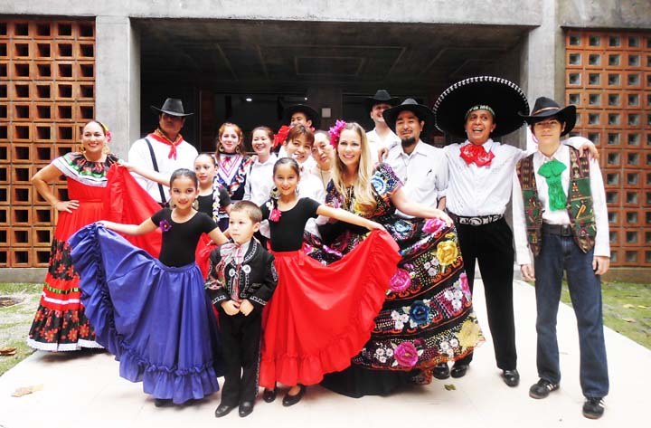 Ballet Folklorico Amigos de Mexico will perform with their usual grace at the Viva Mexico party.