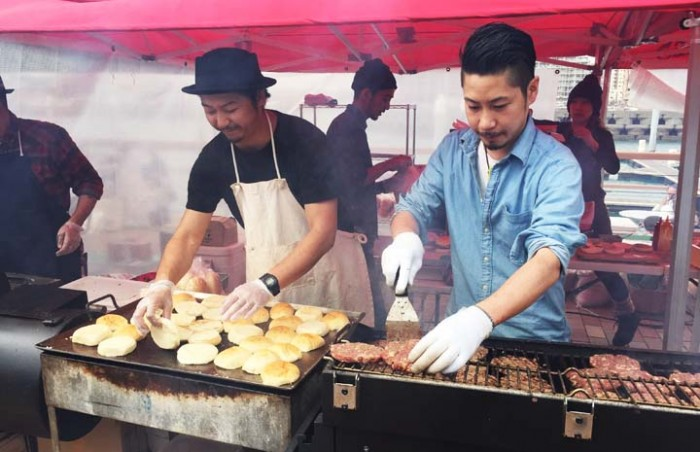 Discovering the taste of new foods is the fun at the Okinawa Food Flea.