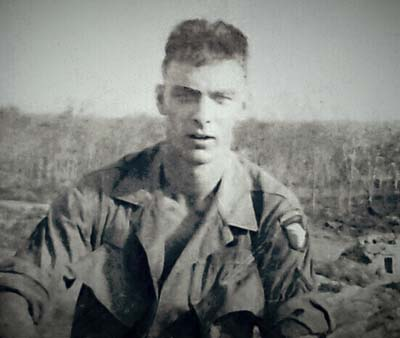 Bill Distler in Phuoc Vinh, Vietnam, in 1968.