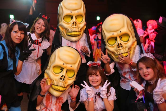 Halloween parties welcome revelers of every age as the Japanese are discovering Halloween like never before.