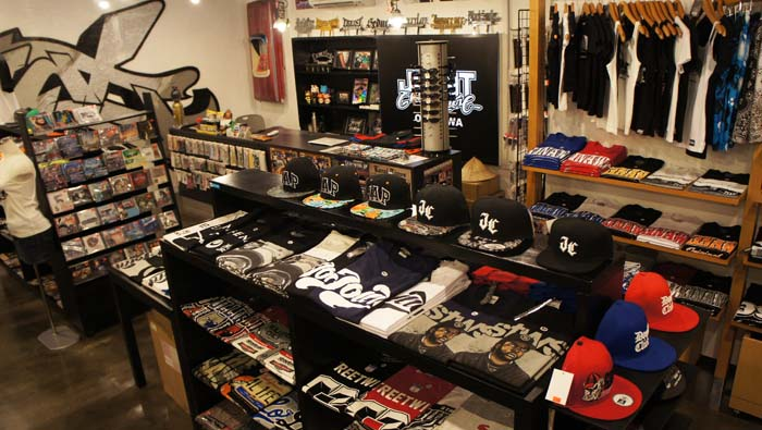 Joint Shop selection of T-shirrs and other items are all personally selected by the owner.