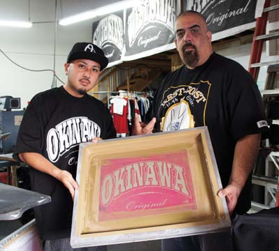 Takefumi Hanashiro receives recognition for 'Okinawa Original' from West Side Original CEO Jesse-G.
