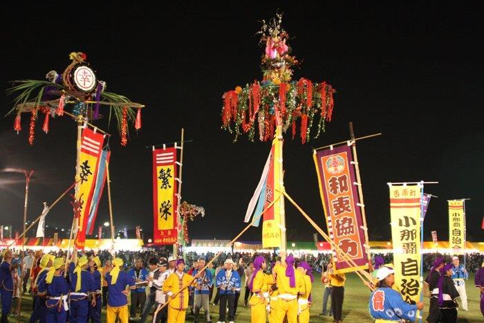 Hatagashira performance.