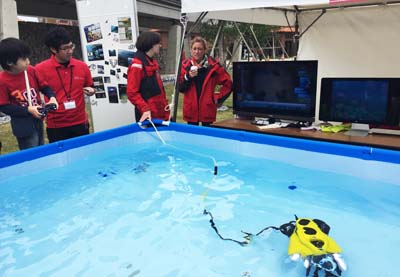 OIST is active in ocean research.