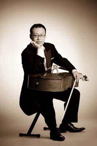 Baroque cellist Toru Yamamoto.