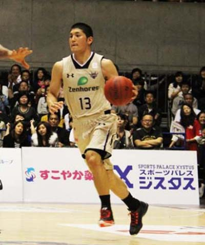 Shuhei Tsuyama scored the team best 25 points on Friday