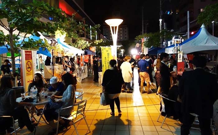 The Haisai Beer Festival takes place on Saturday and Sunday at Saion Square in Asato, Naha City.