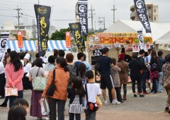 About 30,000 people show up to select the best meal in Chatan every year at the C-1 Gourmet Battle.