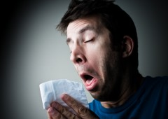 There could be other reasons for a runny nose and sneezing than a simple flu.