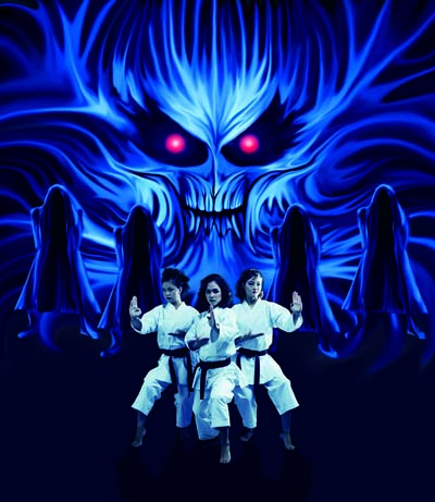 A group of young girls train karate to take on bad guys who rule the city.