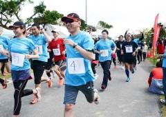 30km relay marathon is in Ginowan.