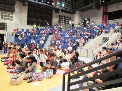 Even the youngest children are welcome to enjoy the concerts at Chatan Nirai Center on Jan. 29th.