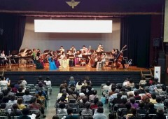 The Ryukyu Symphony Orchestra performs in two regular concerts each year.