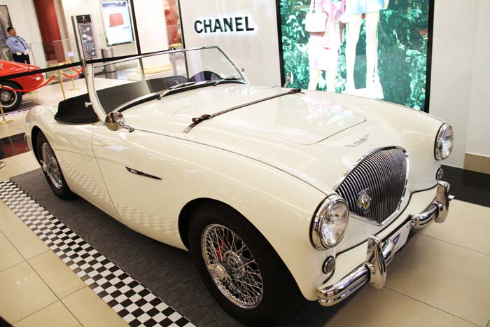 Austin Healey 100 BN 1 from 1954.