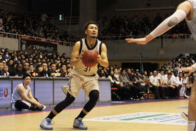 Shuhei Kitagawa presented a mighty effort to ensure the Kings' victory.