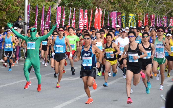 Drivers can expect delays along the route on Sunday as marathon runners take over the roads.